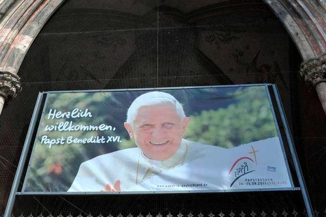 Das Infotelefon für den Papstbesuch ist geschaltet