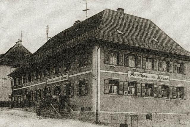 Vor 100 Jahren zerstörte ein Großbrand das Gasthaus Kranz