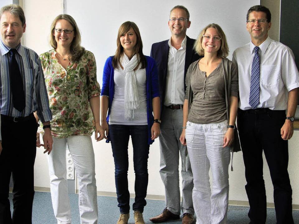 Zum Erfahrungsaustausch über die Koope...e trafen sich Schulleiter und  Lehrer.  | Foto: Meike Zorn
