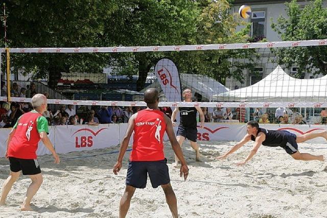 Nitz/Ückert lieben heiße Spiele im Sand