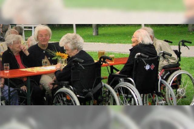 Viel mehr Kinder feiern mit Senioren