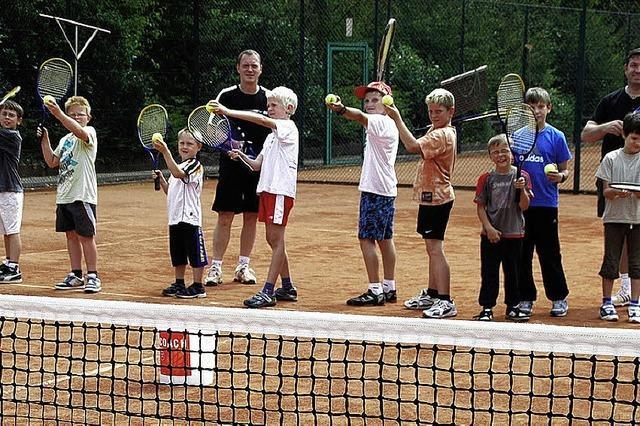 Auf den Spuren von Boris Becker und Steffi Graf