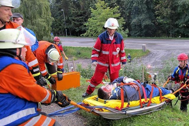 70 Rettungskräfte im Einsatz
