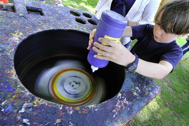 Kunst in der Waschmaschine