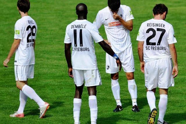 Warum hat der SC Freiburg in Unterhaching verloren?