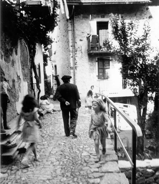 Durchs liebe Ronco: Bissier, 1963   | Foto: lefebre, archivio bissier