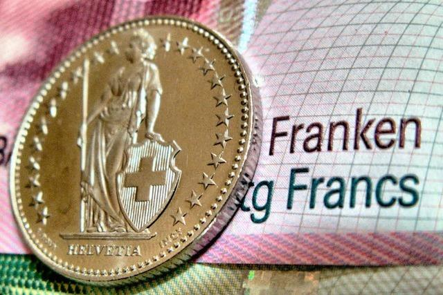 Rekordkurs: Euro erstmals unter 1,10 Franken