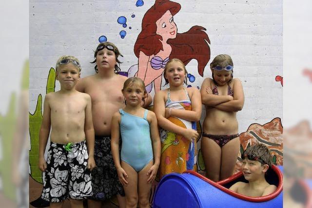 Schwimmfest im Freibad