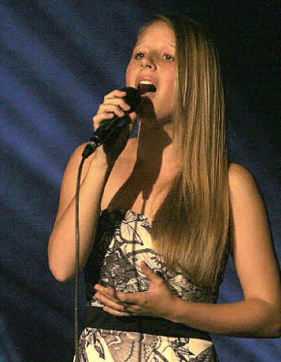 Deutsch, Englisch, Spanisch, Schwedisc...smin Nopper singt in vielen Sprachen.   | Foto: Heidi Fössel