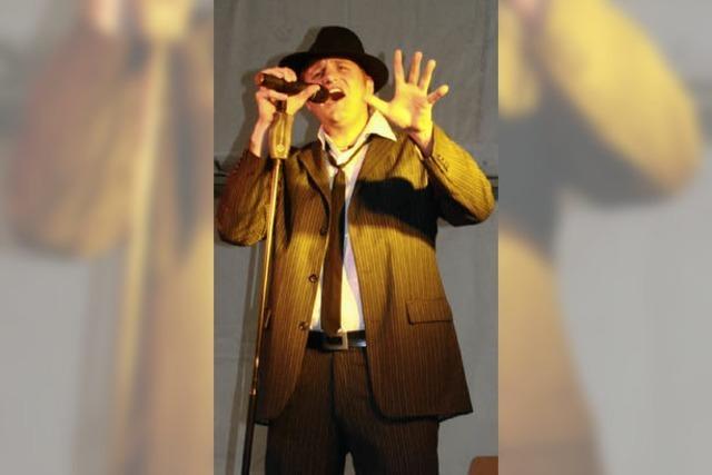 Tobias Gnacke präsentiert sich als Entertainer