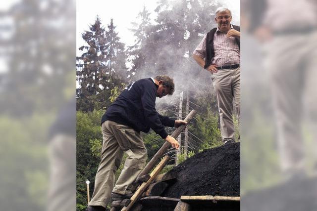 Kohlenmeiler wird wieder zur Attraktion