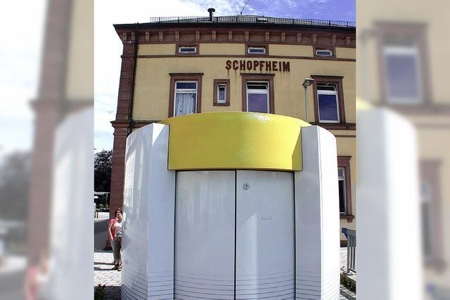 Bahnhofs-WC als Geldgrab?