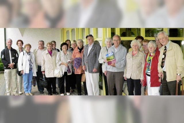 CDU-Senioren auf großer Fahrt