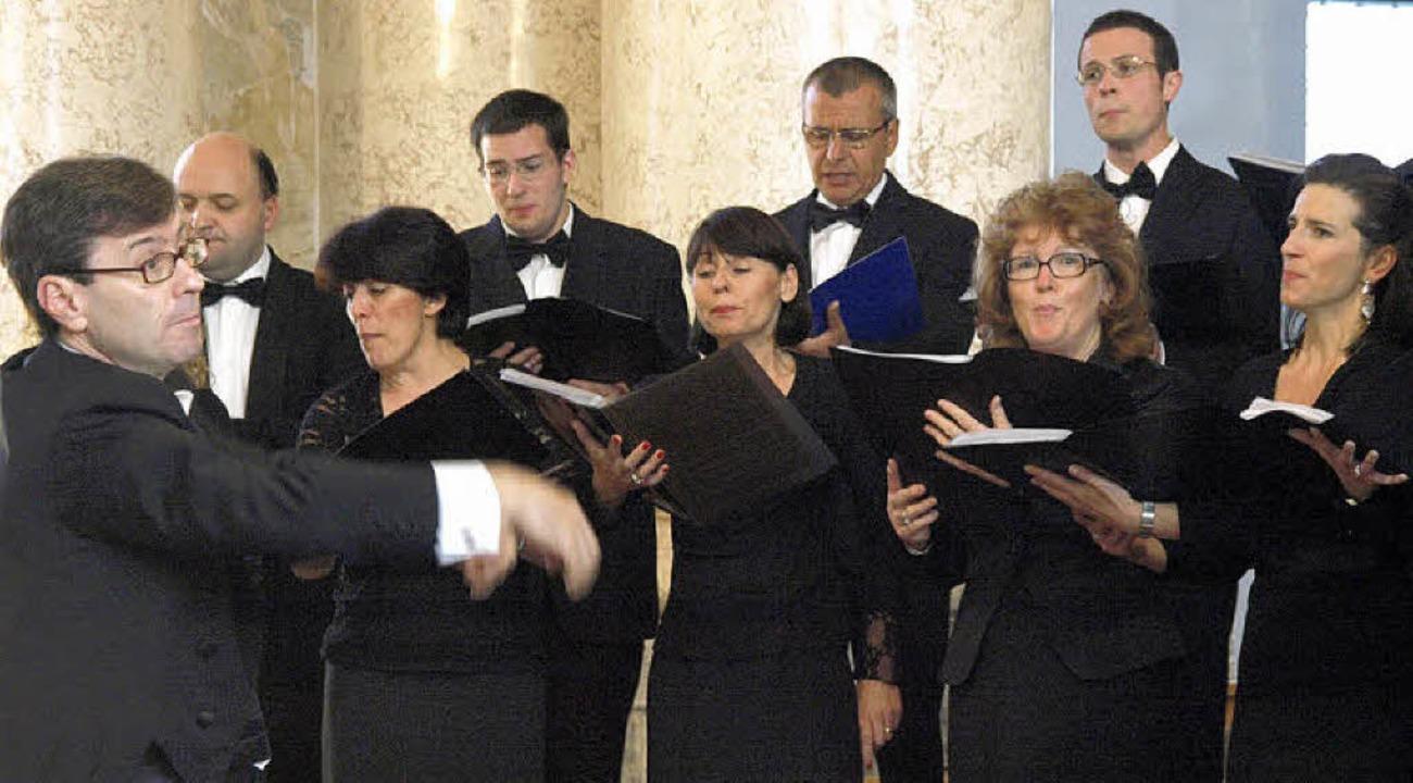 Grandiose Mehrchörigkeit demonstrierte... Pierdino Tisato im Dom zu St. Blasien  | Foto: Karin Stöckl-Steinebrunner