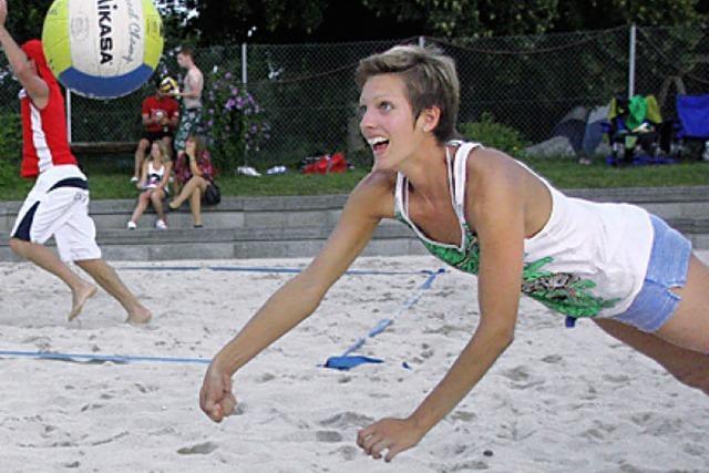 LIEBLINGSPLATZ: Action am Strand in Gündlingen