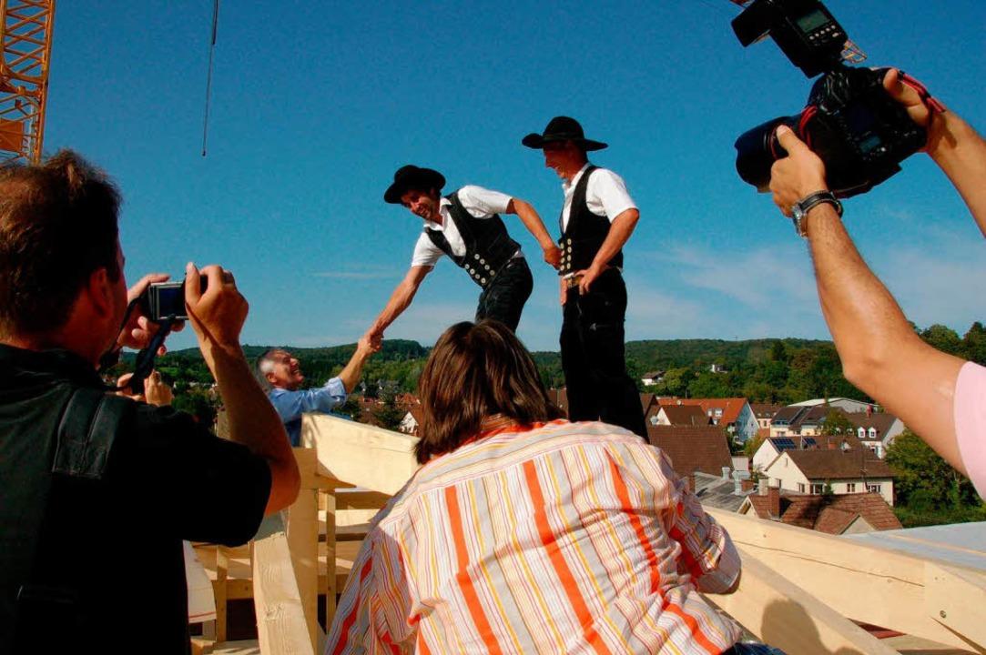 Auch ein Medienereignis: Fotografier wurde, was die Kameras hielten  | Foto: Sylvia-Karina Jahn