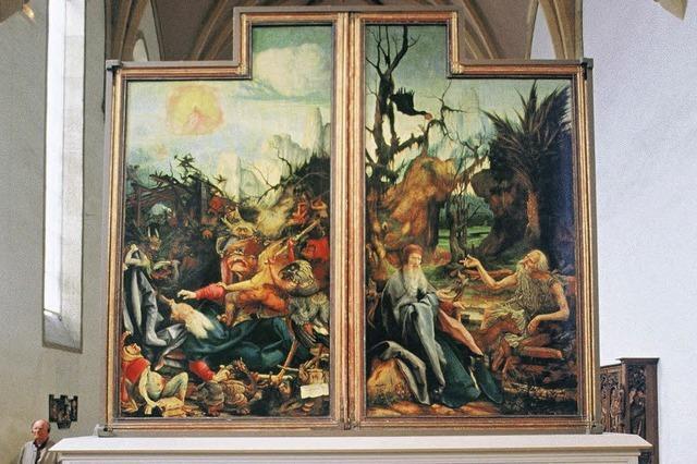 Streit um die Restaurierung des Isenheimer Altars