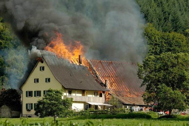 Schneiderhof in Kropbach nach Großbrand wieder aufgebaut