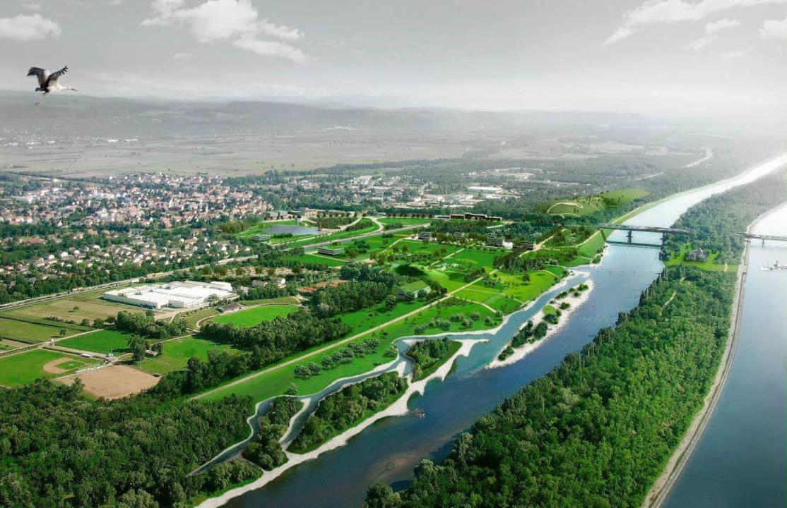 So könnte Neuenburg im Jahr 2022 aussehen.   | Foto: Stadt Neuenburg
