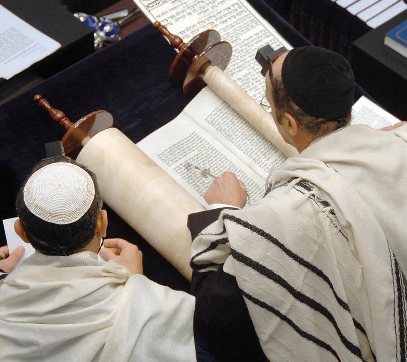 Jüdische Kultur vermitteln: Die jüdisc... September in die Lörracher Synagoge.   | Foto: Archiv