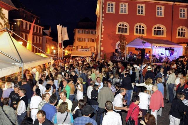 Ettenheim gerät zwei Tage lang in Weinparty-Laune