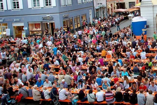 Offenburg ist Kaffeeklatsch-Hauptstadt