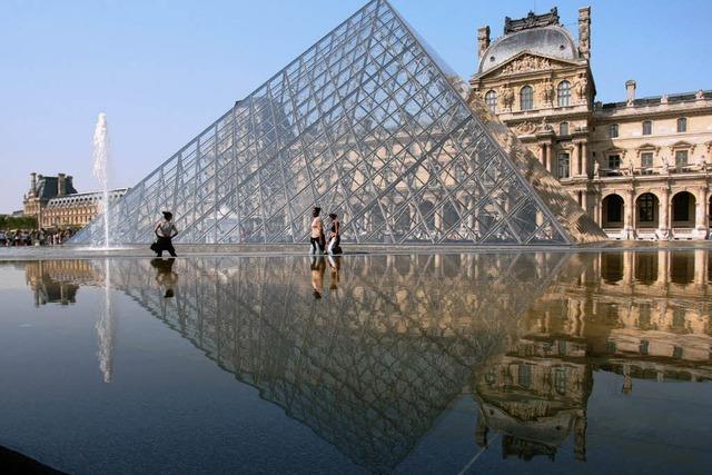 Im Louvre kein Kraftstoff-Saal