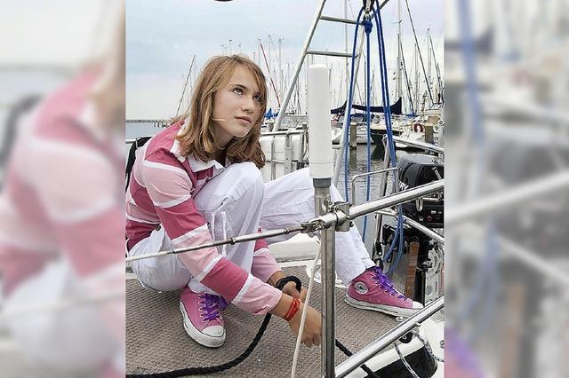 Laura Dekker - seit einem Jahr segelt sie um die Welt