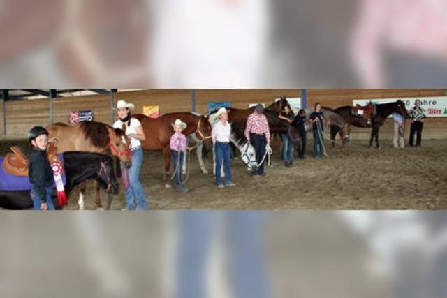 Turnier mit Spaßfaktor für Pferde und Reiter