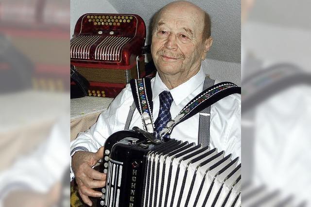 Walter Schmidt wurde 80 Jahre