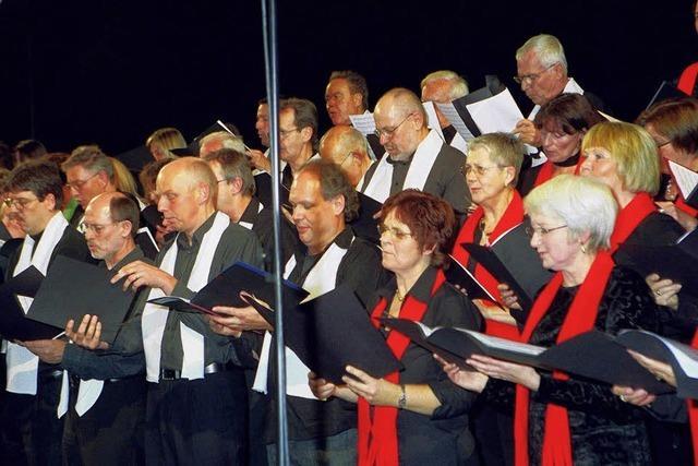 Stadtkapelle sucht Sängerinnen und Sänger