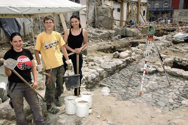 Für einen Nachmittag lang Archäologe sein