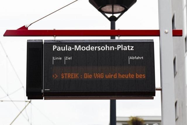 VAG-Streik wirkt sich in Freiburg kaum aus