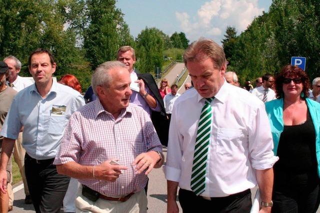Umweltminister will Alternativen bei der Umsetzung des Integrierten Rheinprogramms prüfen