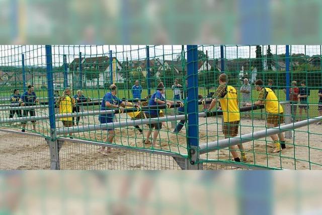 Fußball und Countrymusik in Mahlberg