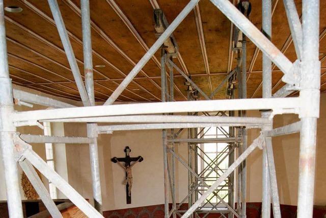 Die Kirche in Schallbach ist akut einsturzgefährdet