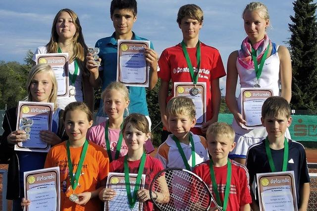 Tennisjugend kämpft um Meistertitel