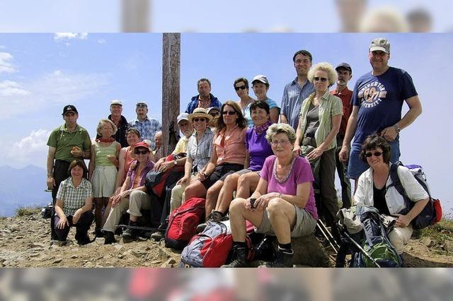 Bergwanderer feiern kleines Jubiläum