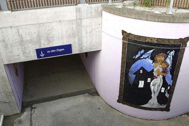 Teurer Graffitischutz