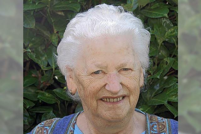 Rosa Grießenauer 80