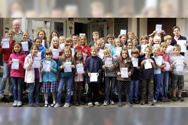 Wallbacher Kinder gut in Bewegung