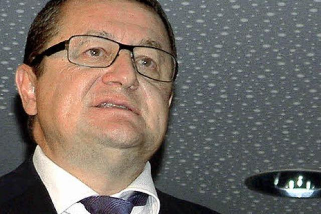 Großratspräsident Voegtli würdigt