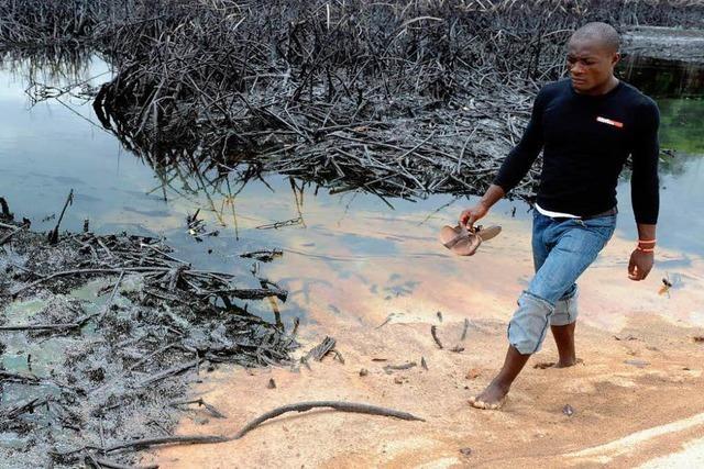 Niger-Delta: UNO geißelt Ölkonzerne