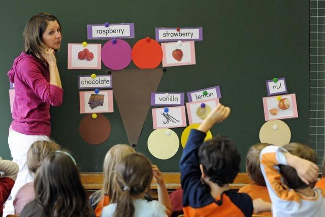 Kein Französisch für Schulanfänger?