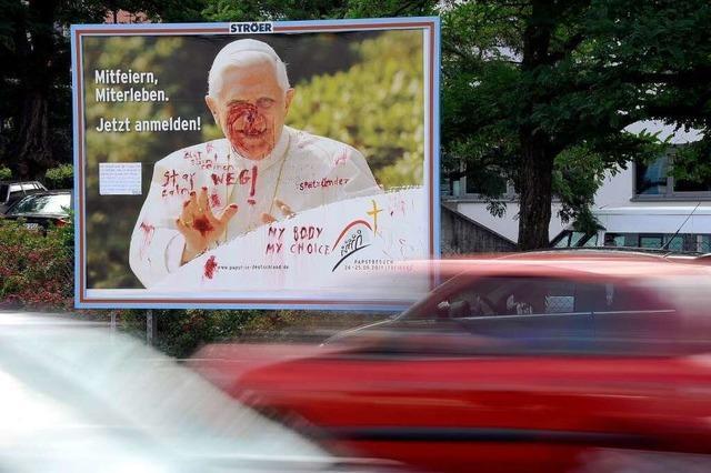 Papst-Messe in Freiburg zieht die meisten Besucher an