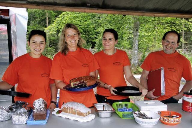 Eingespieltes Organisationsteam beim Waldfest in Titisee