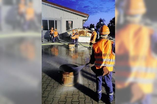 Feuerwehrmann für 24 Stunden