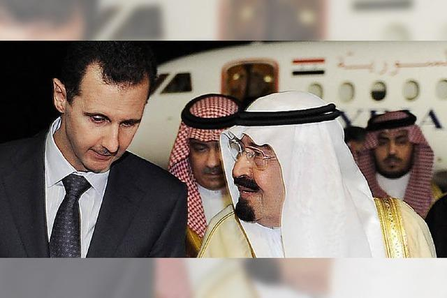 Assads Partner in der Region rücken von ihm ab