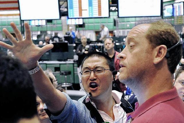 Kursrutsch am Finanzmarkt