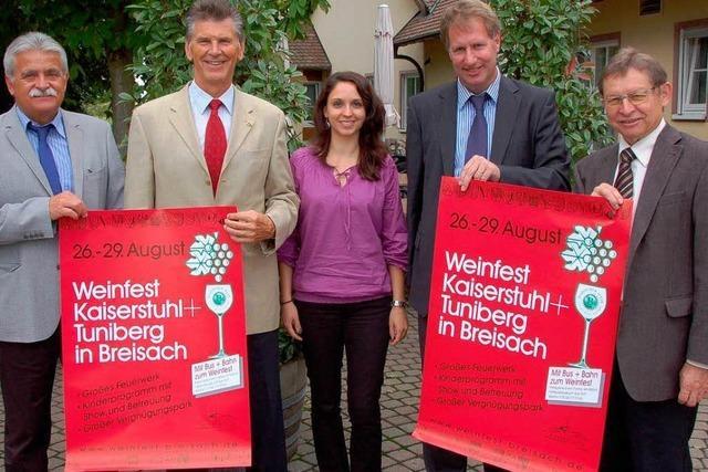 Großes Weinfest für Kaiserstuhl und Tuniberg